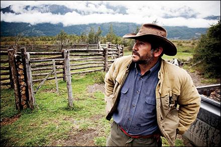 Rancher along the Carretera Austral Photograph by Michael Hanson