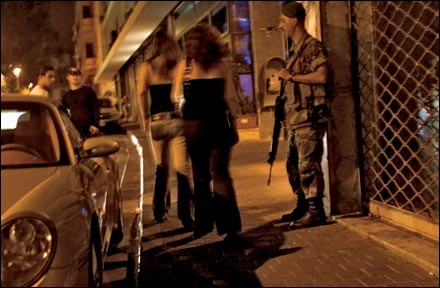 Edgy nightlife in Beirut Photo:Seamus Murphy