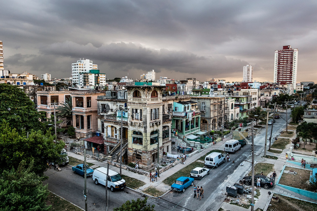 Havana's Vedado neighborhood in March 2015.