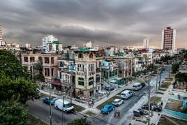 Havana's Vedado neighborhood in March 2015.